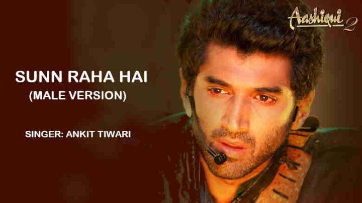 Sunn Raha Hai Lyrics Male Version - Aashiqui 2