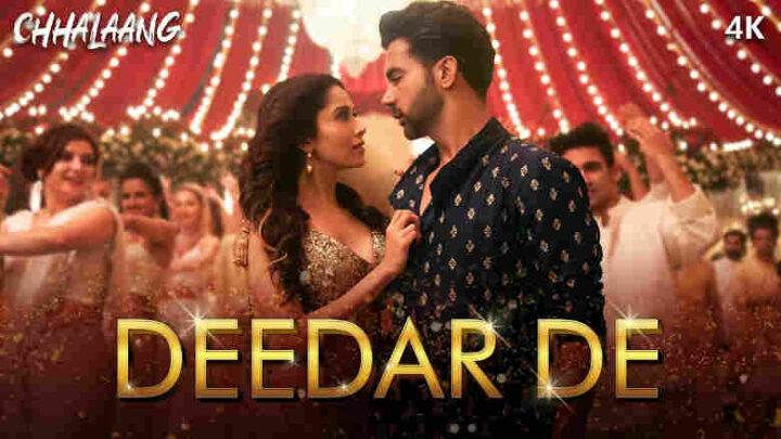 Deedar De Lyrics - Chhalaang