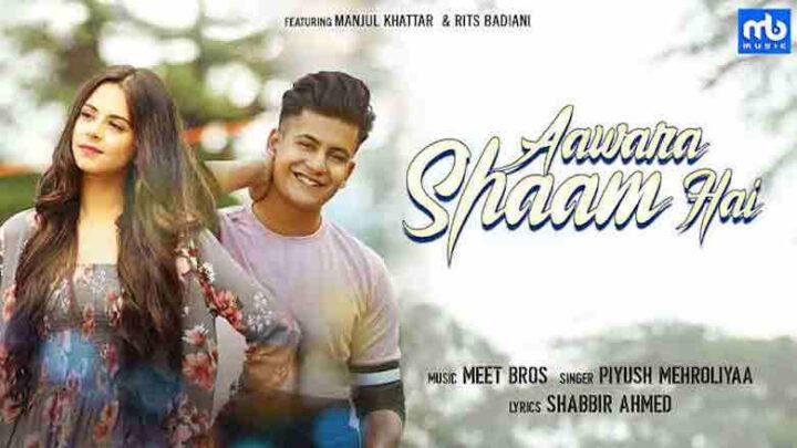 Aawara Shaam Hai Lyrics - Meet Bros ft. Piyush Mehroliyaa